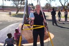 Critical Fall Height Testing - Soweto